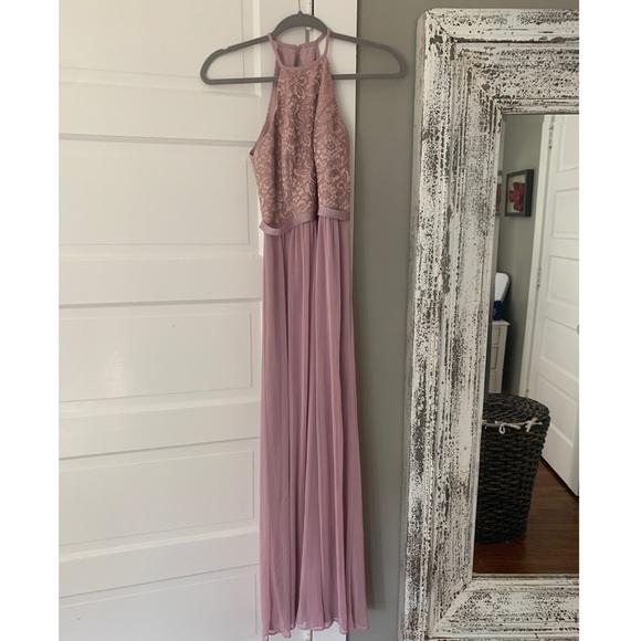 David's Bridal Dresses & Skirts - David's bridal Floor length rose dress